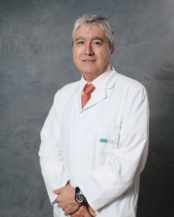 Dr. Leoncio Arribas Alpuente, Jefe de Servicio de Oncología Radioterápica