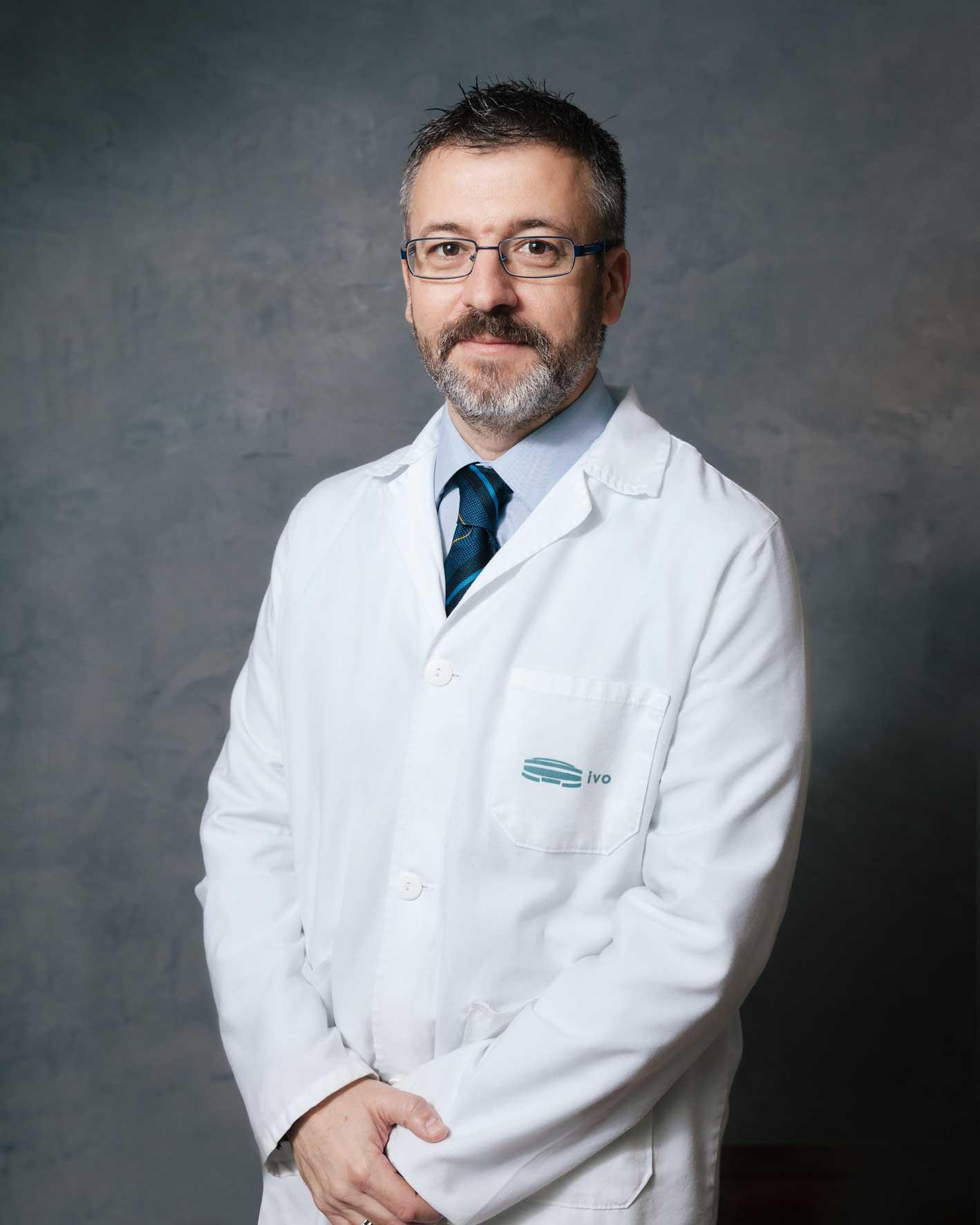 Dr. José Antonio López-Guerrero, Jefe Clínico del laboratorio de Biología Molecular