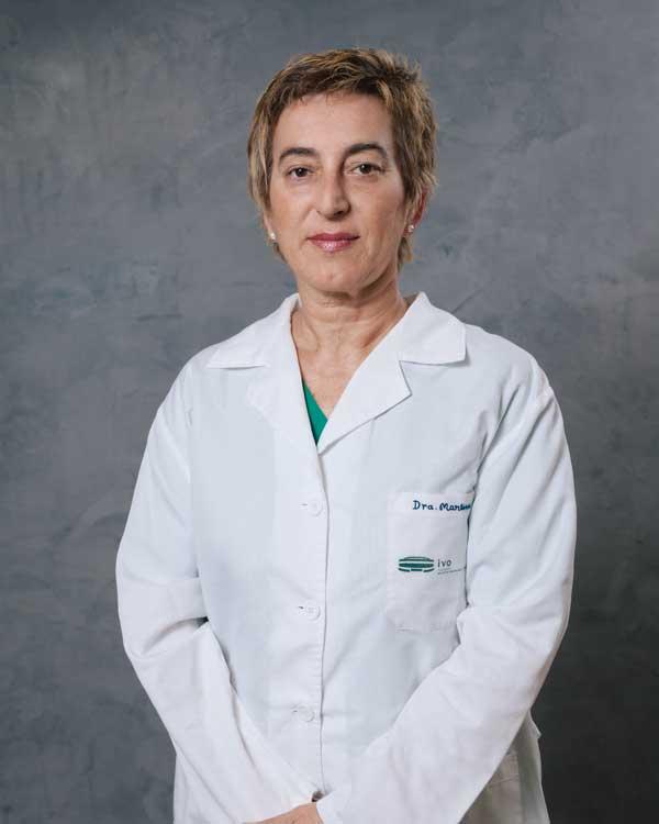 Dra. Mª Ángeles Martínez Navarrete, Jefa de Servicio