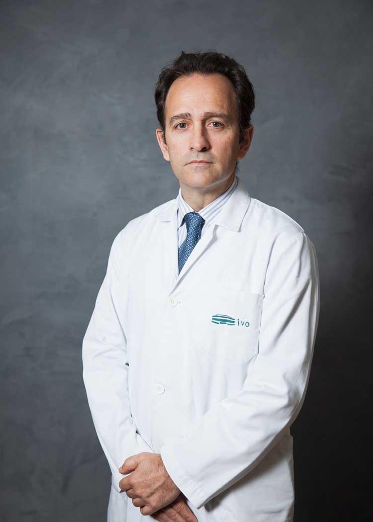 Dr. José Rubio Briones, Jefe de Servicio